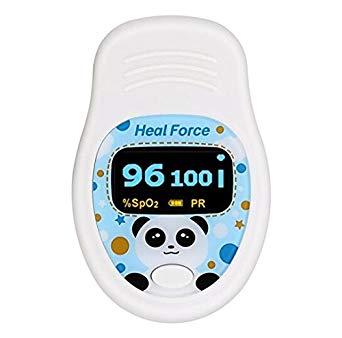 pulsioxímetro Heal Force 100b1 para niños y jovenes