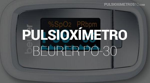Pulsioxímetro Beurer PO30